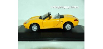Porsche Boxter (showcase) 1/43 Motor max miniature car