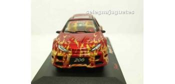 Peugeot 206 Tourging llamas escala 1/32 RMZ coche miniatura metal