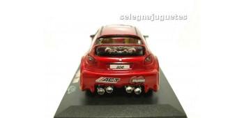 coche miniatura Peugeot 206 Tourging llamas escala 1/32 RMZ