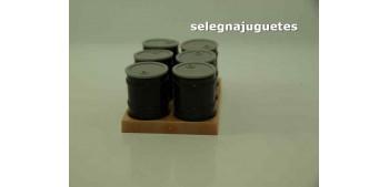 Barriles Lote de 6 escala 1/43 cararama (Artículo sin caja) Cararama