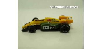 miniature car Coche tipo Formula 1 amarillo (sin caja)