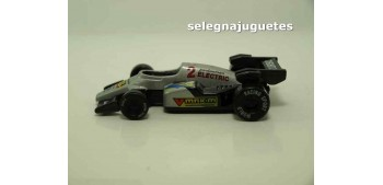 miniature car Coche tipo Formula 1 gris (sin caja)