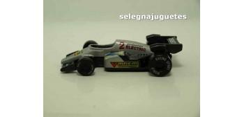 Coche tipo Formula 1 gris (sin caja)