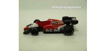 Coche tipo Formula 1 rojo (sin caja)