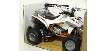 Honda TRX 450 R White Quad 1/12 New ray