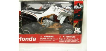 Honda TRX 450 R Blanco Quad 1/12 New ray