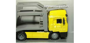 coche miniatura Man F2000 portacoches 1/43 New Ray