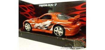 Mazda RX-7 rojo 1/24 Motor max coche metal miniatura