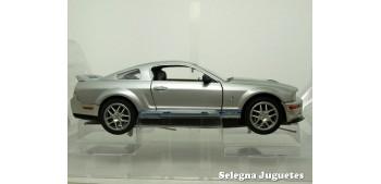 miniature car Shelby GT500 2007 Plata 1/24 Yat ming
