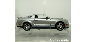 Shelby GT500 2007 Plata 1/24 Yat ming