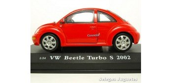 VOLKSWAGEN BEETLE TURBO S 2002 - 1/24 CARARAMA Cararama