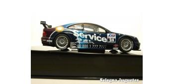 coche miniatura MERCEDES BENZ CLK DTM 2001 SAELENS Nº 24 - 1/43
