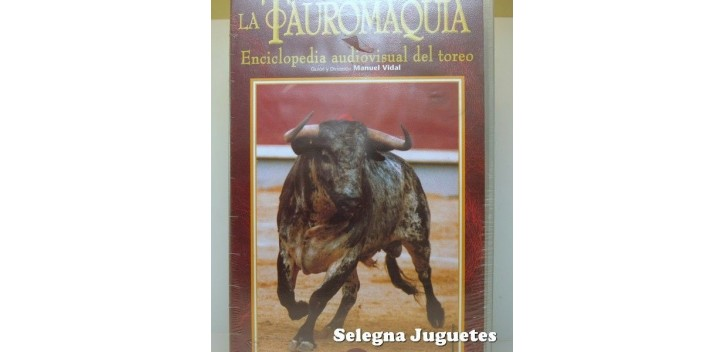 VHS - Tauromaquia - Lote 4 VHS Dvd y Vhs