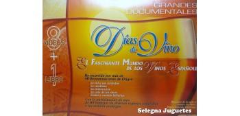 VHS - Dias de Vino - Lote 8 VHS + LIBRO