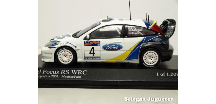 FORD FOCUS RS WRC 2003 - RALLY ARGENTINA - MAERTIN - 1/43 - MINI