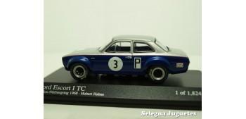 coche miniatura FORD ESCORT I TC 1968 HAHNE 1/43 MINICHAMPS