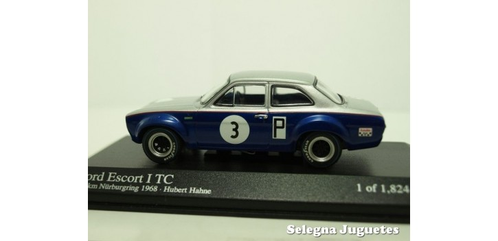 FORD ESCORT I TC 1968 HAHNE 1/43 MINICHAMPS COCHE ESCALA