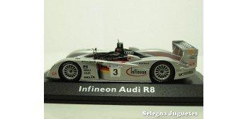 Audi Infineon R8 Nº 3 Le Mans escala 1/43 Minichamps coche metal miniatura Minichamps