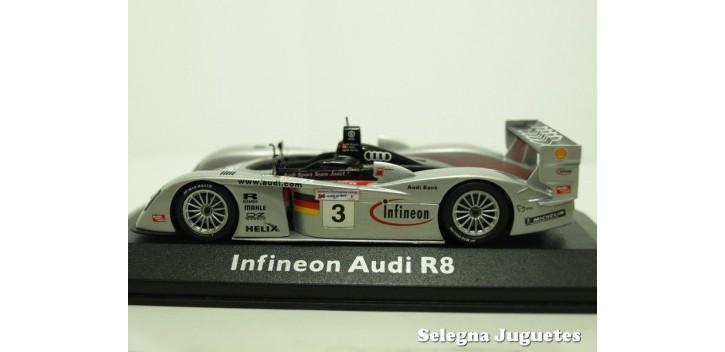 Audi Infineon R8 Nº 3 Le Mans escala 1/43 Minichamps coche