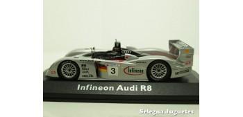 Audi Infineon R8 Nº 3 Le Mans escala 1/43 Minichamps coche metal miniatura