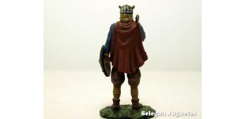Vikingo Siglo IX soldado plomo tamaño 54 mm escala 1/32 Altaya