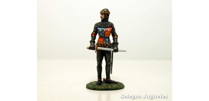 El Principe Negro Siglo XIV soldado plomo escala 54 mm Altaya