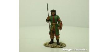 lead figure Guerrero Sarraceno soldado plomo escala 54 mm Altaya