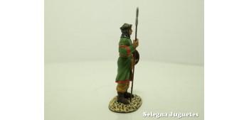 Guerrero Sarraceno soldado plomo escala 54 mm Altaya