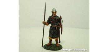 Guerrero Normando Siglo XI soldado plomo escala 54 mm Altaya Frontline Figures