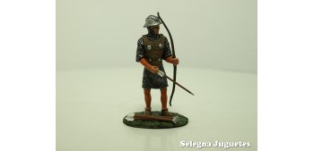 lead figure ARQUERO INGLES SIGLO XIII SOLDADO PLOMO 54 mm ALTAYA