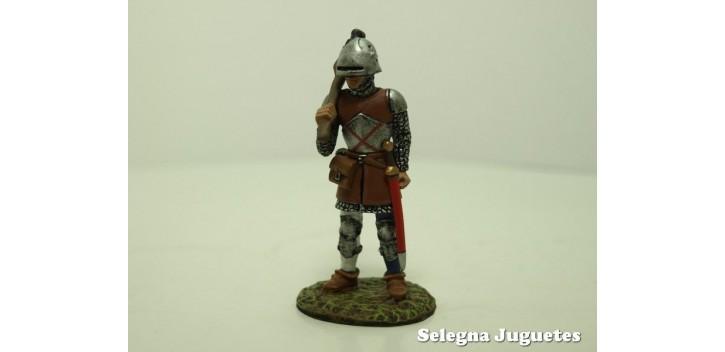 CULIBRINERO SIGLO XV SOLDADO PLOMO 54 mm ALTAYA