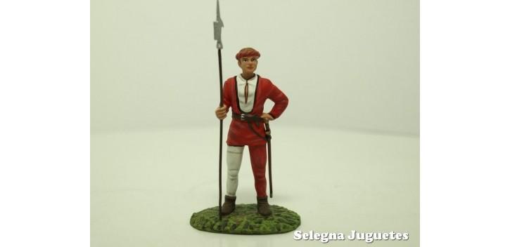 soldado plomo ALABARDERO SUIZO SIGLO XV SOLDADO PLOMO 54 mm