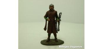 HOMBRE DE ARMAS INGLES SIGLO XIV SOLDADO PLOMO 54 mm AL
