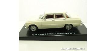 coche miniatura Alfa Romeo Giulia 1600 super 1970 escala 1/43
