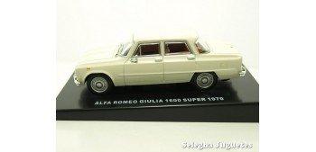 Alfa Romeo Giulia 1600 super 1970 escala 1/43 coche