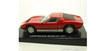 miniature car LAMBORGHINI MIURA SV 1971 - 1/43 DEA COCHE