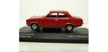 coche miniatura Ford Escort MK I 1/43 Vanguards coche metal