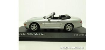 Porsche 968 cabriolet scale 1:43 Minichamps miniature car