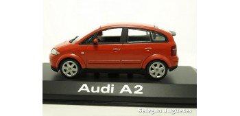 Audi A2 rojo scale 1:43 Minichamps miniature car