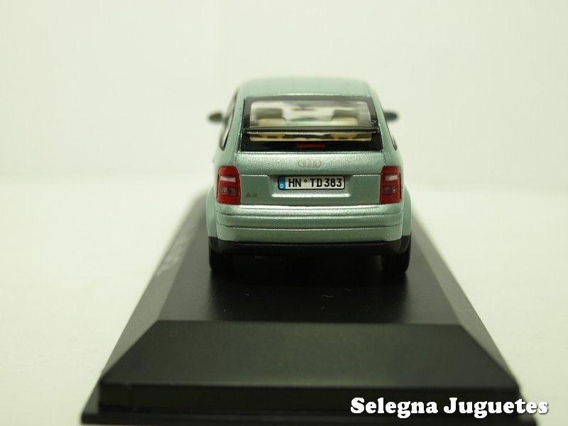 Coche Metal Audi Minichamps 143 A2 Gris Escala Miniatura nwO0PkX8