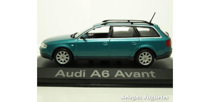 Audi A6 Avant azul scale 1:43 Minichamps miniature car