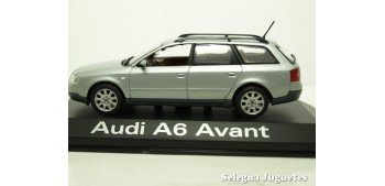 Audi A6 Avant gris escala 1/43 Minichamps coche miniatura metal