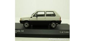 miniature car Fiat Panda 34 scale 1:43 Minichamps miniature car