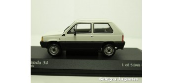 Fiat Panda 34 scale 1:43 Minichamps miniature car