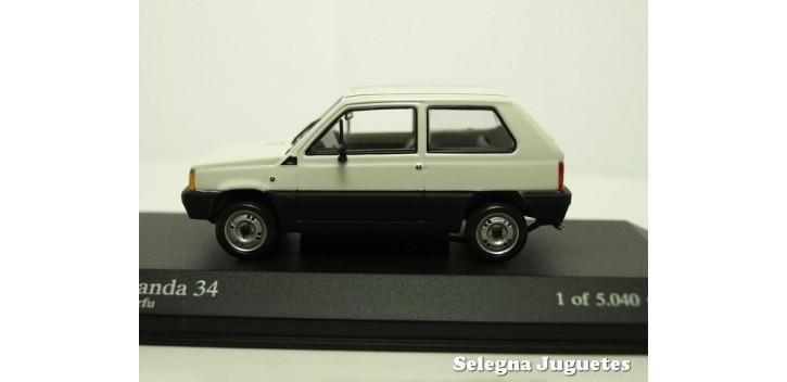 coche miniatura Fiat Panda 34 escala 1/43 Minichamps coche