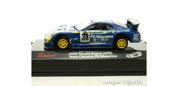 Toyota Supra JGTC 2000 Team Cerumo FK/Massimo escala 1/72 Saico coche metal miniatura