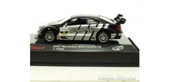 coche miniatura Mercedes Benz CLK-DTM Alesi escala 1/72 Saico