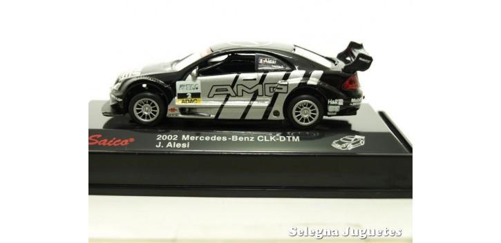 Mercedes Benz CLK-DTM Alesi escala 1/72 Saico coche metal