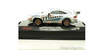 miniature car Porsche 911 GT3 2000 Chereau Le mans escala 1/72