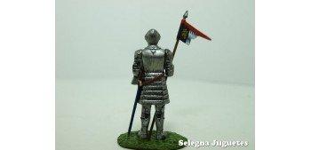 soldado plomo Caballero Alemán con Armadura soldado plomo